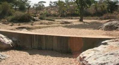Cheap sand dams in East Africa